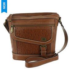 BOC Amherst Ostrich Crossbody Bag