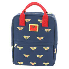 Loungefly Wonder Woman Icon Canvas  Backpack