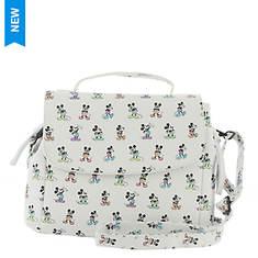 Loungefly Mickey Pastel Poses Crossbody Bag