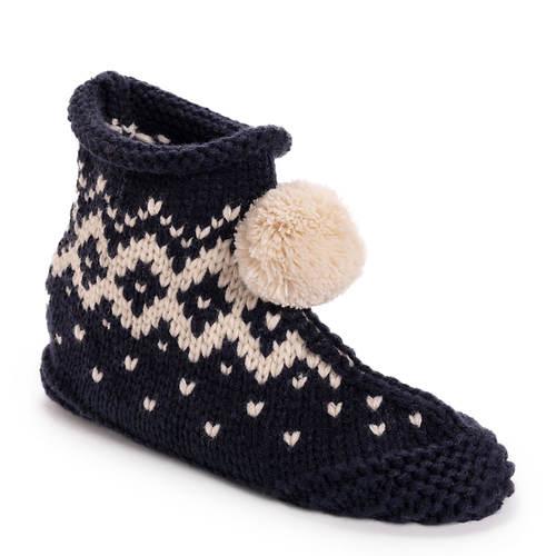 MUK LUKS Knit Bootie Slipper (Women's)