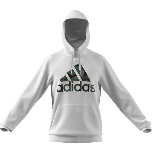 adidas Men's Camo French Terry BOS Hoodie