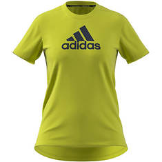 adidas Women's D2M Badge of Sport Tee