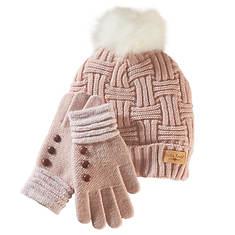 Britt's Knits Hat & Glove Set