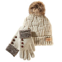 Britt's Knits Hat + Glove Set