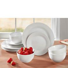 12-Piece Porcelain Dinnerware Set