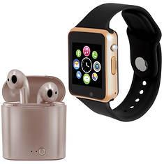 Slide Bluetooth Smartwatch/Earbud Combo