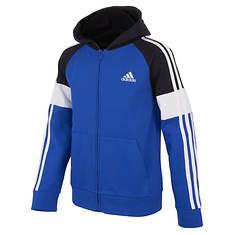 adidas Boys' Blocked FT Hooded Jacket