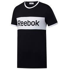 Reebok Men's Training Essentials Linear Logo Tee