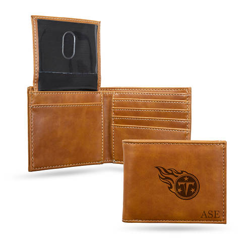 NFL Brown Bill-Fold Wallet