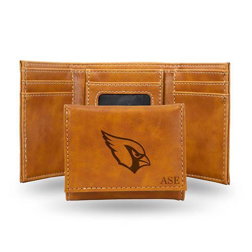 NFL Brown Tri-Fold Wallet