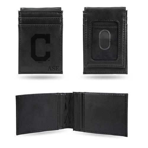 MLB Black Front Pocket Wallet