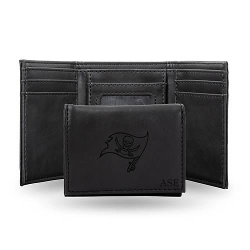 NFL Black Tri-Fold Wallet