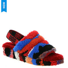 UGG® Fluff Yeah Slide Cali Collage (Women's)