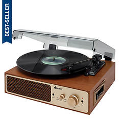 Jensen Turntable With Cassette Player