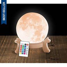 3-D Full Moon Light