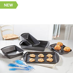 Wilton Perfect Results 8-Piece Bakeware and Spatula Set