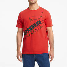 PUMA Men's Big Logo Tees