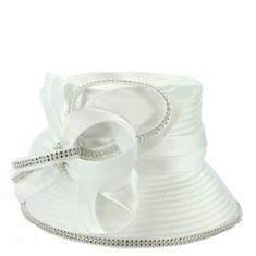 Ruffle Embellished Hat