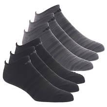 adidas Men's Superlite II 6-Pack No Show Socks