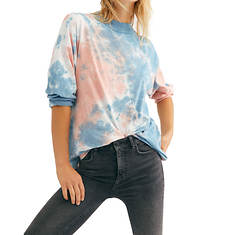 Free People Be Free Tie Dye Tee