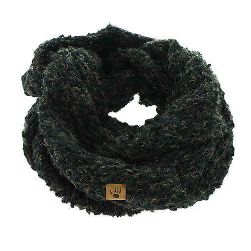 BEARPAW Women's Popcorn Knit Scarf