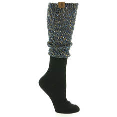 BEARPAW Women's Boucle Slouch Knee High  Socks