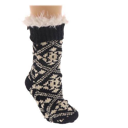 BEARPAW Women's Chenille Slipper Socks