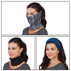 3-pk. Multi-Wear Face Shield