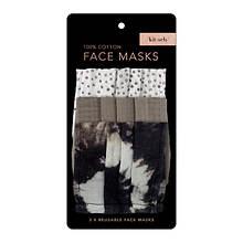 Kitsch Fashion Cotton Face Mask 3pc