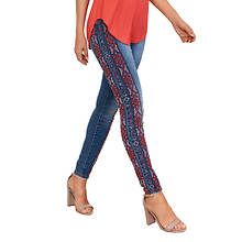 Aztec Embroidered Jean