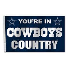 NFL 3'x5' Banner Flag