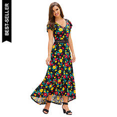 High-Low Cutout Dress