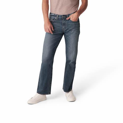 Silver Jeans Men's Zac Relaxed Fit Straight Leg Jean