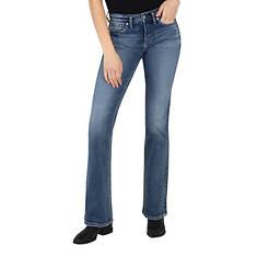 Silver Jeans Women's Suki Mid Rise Bootcut Jean