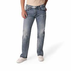 Silver Jeans Men's Gordie Loose Fit Straight Leg Jean