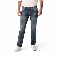 Silver Jeans Men's Allan Classic Fit Straight Leg Jean