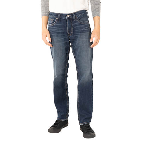 Silver Jeans Men's Eddie Relaxed Fit Tapered Leg Jean