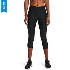 Under Armour Women's HeatGear Armour High-Rise Capri