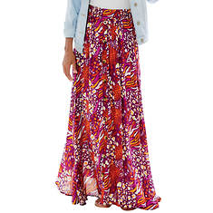 Button-Down Maxi Skirt