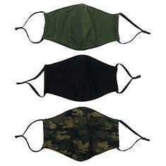 3-Pack Washable Face Masks