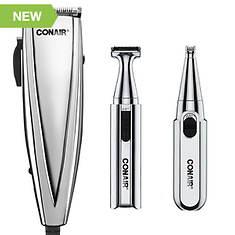 Conair 25-pc. 3-in-1 Chrome Haircut Kit