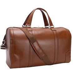 """McKlein USA Kinzie 20"""" Carry-all Leather Duffel"""