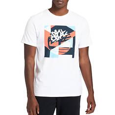 Timberland Men's SS Coastal Cool Graphic Logo Print Tee