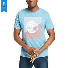 Timberland Men's SS Graphic Tee Contrast Tree Logo