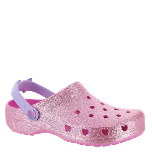 Skechers Foamies Heart Charmer-Glitter Clog Bow 308017L (Girls' Toddler-Youth)