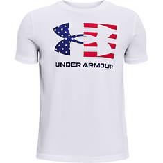 Under Armour Boys' Freedom Chest Flag T