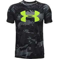 Under Armour Boys' Tech Big Logo Printed SS
