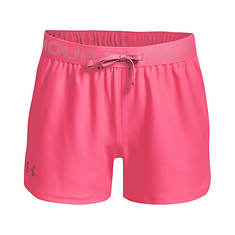 Under Armour Girls' Play Up Solid Short