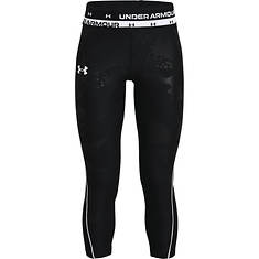 Under Armour Girls' HG Armour Emboss Ankle Crop