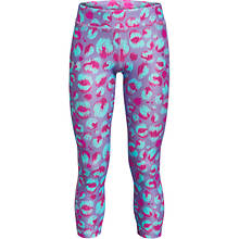 Under Armour Girls' HG Armour Printed Ankle Crop